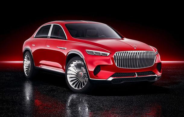 Informații și fotografii oficiale cu noul Vision Mercedes-Maybach Ultimate Luxury: crossover electric cu 750 CP și autonomie de peste 500 de kilometri - Poza 1