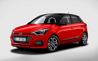 Hyundai i20 facelift: subcompacta renunță la diesel, dar primește pentru prima oară cutie de viteze automată cu dublu ambreiaj