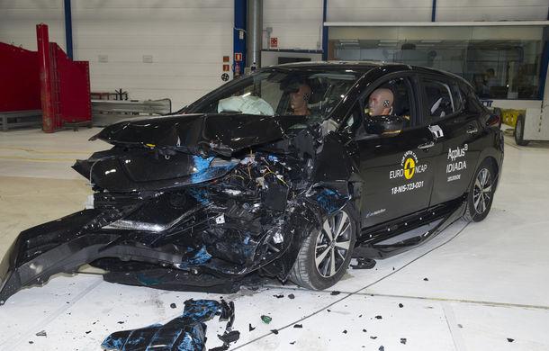 Noua generație Nissan Leaf, 5 stele la Euro NCAP: teste mai dure pentru protecția pietonilor și bicicliștilor - Poza 2