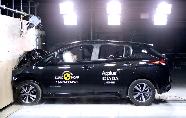Noua generație Nissan Leaf, 5 stele la Euro NCAP: teste mai dure pentru protecția pietonilor și bicicliștilor - Poza 5