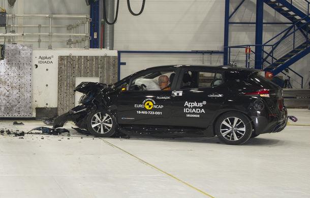 Noua generație Nissan Leaf, 5 stele la Euro NCAP: teste mai dure pentru protecția pietonilor și bicicliștilor - Poza 4