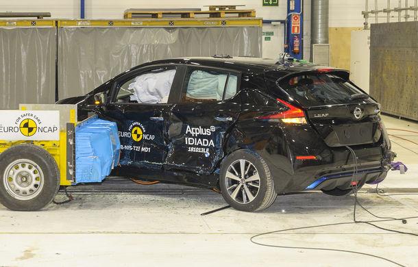 Noua generație Nissan Leaf, 5 stele la Euro NCAP: teste mai dure pentru protecția pietonilor și bicicliștilor - Poza 8