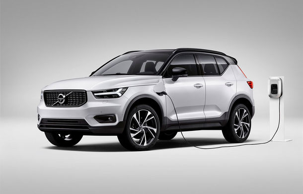 Volvo a lansat noul XC40 T5 Twin-Engine: SUV-ul hibrid pregătit de suedezi a fost expus la Beijing - Poza 5