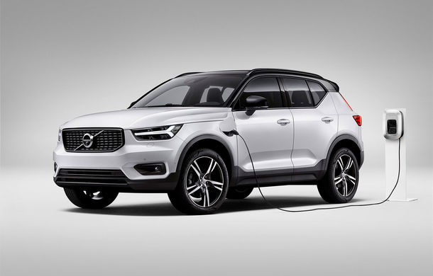 Volvo a lansat noul XC40 T5 Twin-Engine: SUV-ul hibrid pregătit de suedezi a fost expus la Beijing - Poza 1