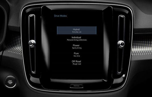 Volvo a lansat noul XC40 T5 Twin-Engine: SUV-ul hibrid pregătit de suedezi a fost expus la Beijing - Poza 11