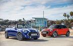 Mini deschide un showroom temporar în București în perioada 28 aprilie - 7 mai: Mini Hatch şi Cabriolet facelift, vedetele standului