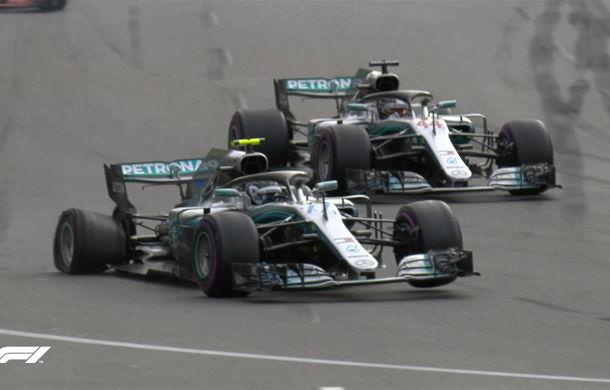 Spectacol la Baku: Hamilton câștigă în fața lui Raikkonen după o pană suferită de Bottas. Vettel pe locul 4, acroșaj între Verstappen și Ricciardo - Poza 3