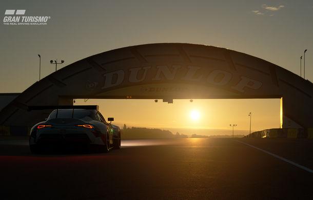 Toyota GR Supra Racing Concept: prototipul poate fi pilotat în mediul virtual - Poza 8