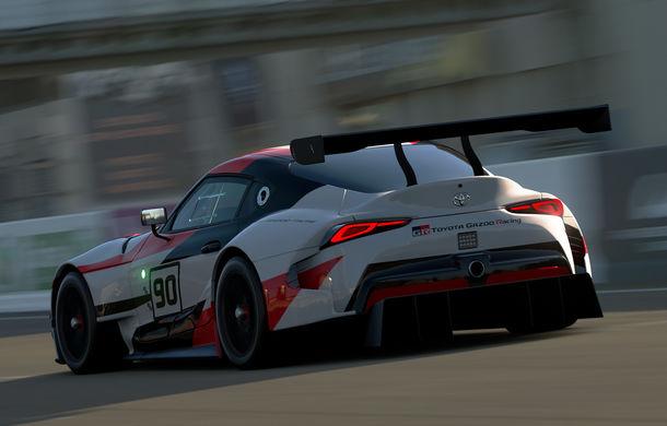Toyota GR Supra Racing Concept: prototipul poate fi pilotat în mediul virtual - Poza 6