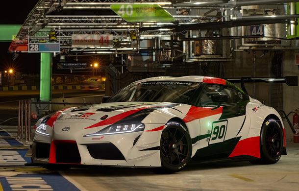 Toyota GR Supra Racing Concept: prototipul poate fi pilotat în mediul virtual - Poza 3