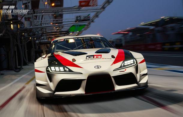 Toyota GR Supra Racing Concept: prototipul poate fi pilotat în mediul virtual - Poza 2