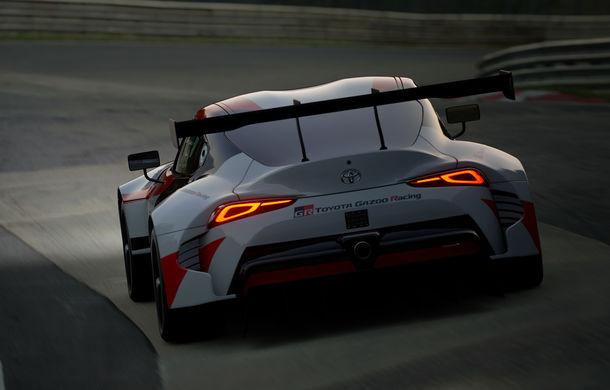 Toyota GR Supra Racing Concept: prototipul poate fi pilotat în mediul virtual - Poza 5