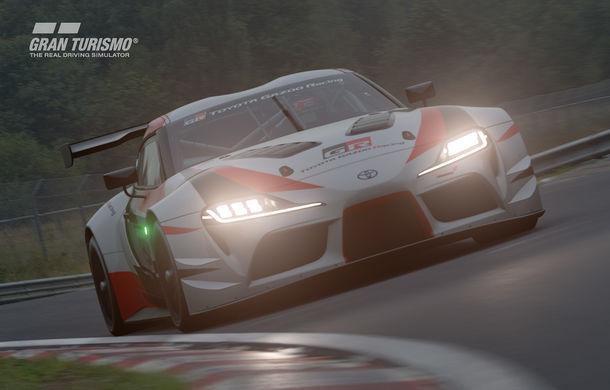 Toyota GR Supra Racing Concept: prototipul poate fi pilotat în mediul virtual - Poza 4