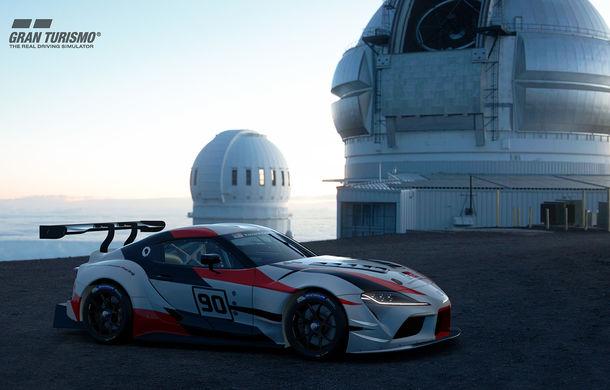 Toyota GR Supra Racing Concept: prototipul poate fi pilotat în mediul virtual - Poza 7