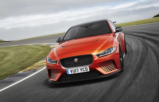 Jaguar a prins gustul edițiilor speciale: Project 9 va fi produs într-un număr limitat de unități cu ajutorul diviziei Special Vehicle Operations - Poza 1