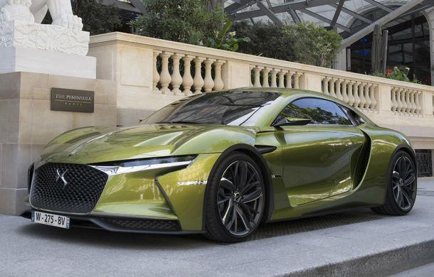 Francezii de la DS vor lansa doar modele electrice și hibride din 2025: brandul premium pregătește surprize pentru Salonul Auto de la Paris - Poza 1