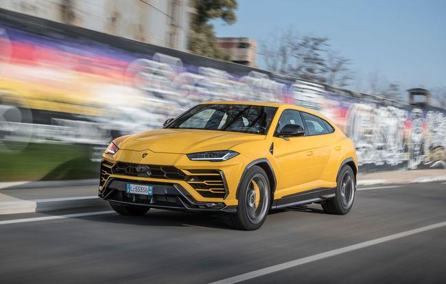 Test drive Lamborghini Urus