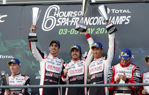 """Alonso a câștigat la Spa-Francorchamps la debutul în Campionatul Mondial de Anduranță: """"Este fantastic să fiu pe podium"""" - Poza 5"""