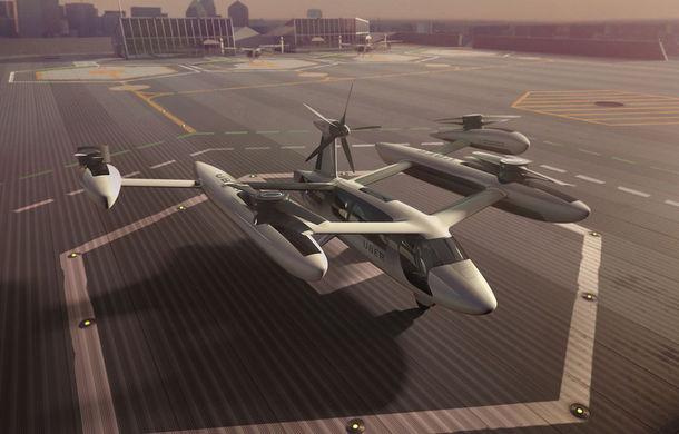 """Uber prezintă o nouă versiune a """"taxiului zburător"""": lansarea este programată pentru 2023 - Poza 1"""