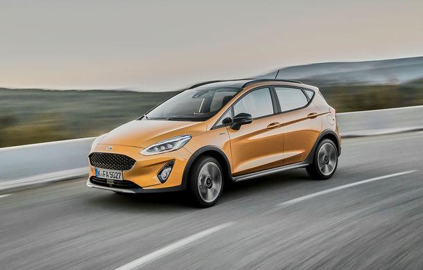 Detalii noi despre Ford Fiesta Active: gardă la sol mai mare cu 18 mm și elemente suplimentare de protecție - Poza 3