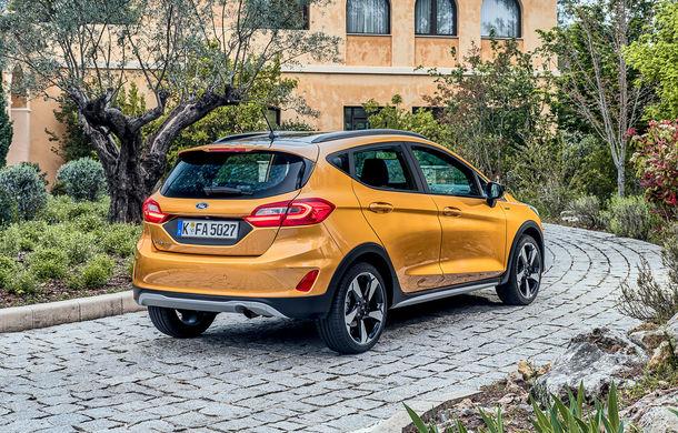 Detalii noi despre Ford Fiesta Active: gardă la sol mai mare cu 18 mm și elemente suplimentare de protecție - Poza 2