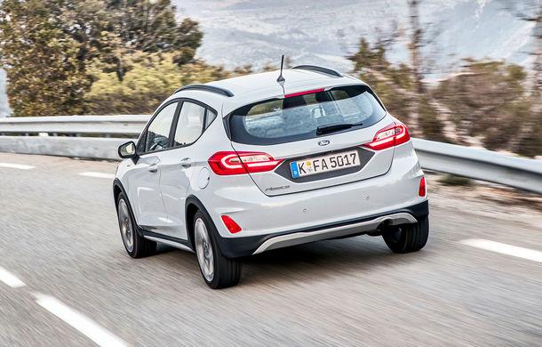 Detalii noi despre Ford Fiesta Active: gardă la sol mai mare cu 18 mm și elemente suplimentare de protecție - Poza 6