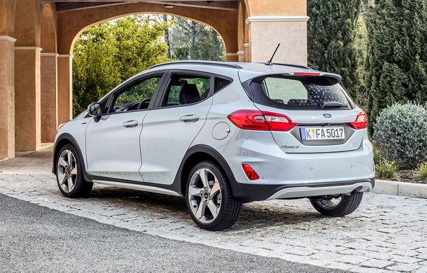Detalii noi despre Ford Fiesta Active: gardă la sol mai mare cu 18 mm și elemente suplimentare de protecție - Poza 7