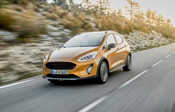 Detalii noi despre Ford Fiesta Active: gardă la sol mai mare cu 18 mm și elemente suplimentare de protecție - Poza 4