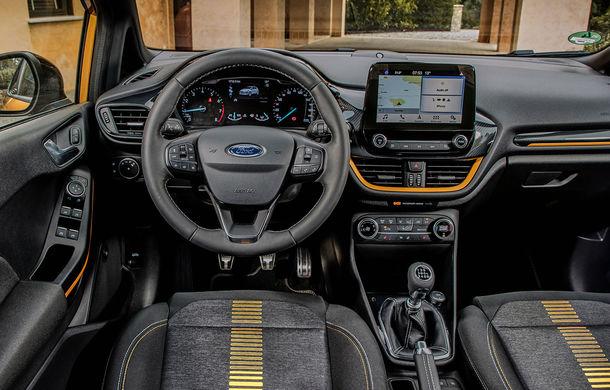 Detalii noi despre Ford Fiesta Active: gardă la sol mai mare cu 18 mm și elemente suplimentare de protecție - Poza 11
