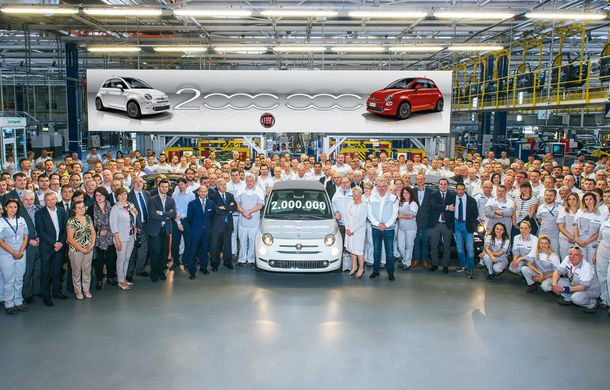 Petrecere în stil italian: Fiat a produs două milioane de exemplare 500 - Poza 1