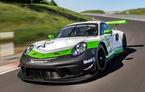 Porsche 911 GT3 R: versiunea de circuit are peste 550 CP și sistem de aer condiționat