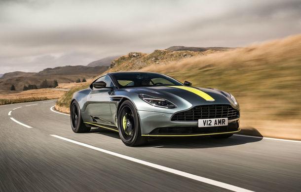 Noul Aston Martin DB11 AMR este aici: motor V12 twin-turbo de 5.2 litri, 640 de cai putere, 700 Nm și viteză maximă de 334 km/h - Poza 4