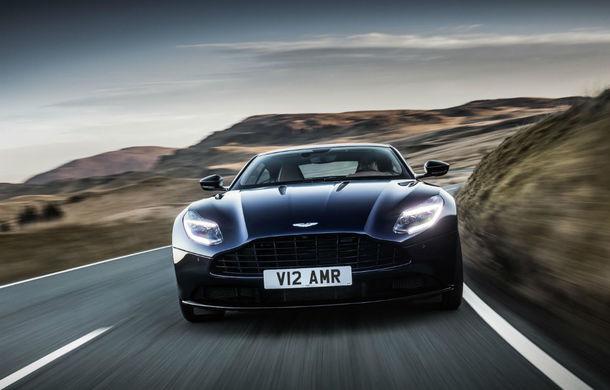 Noul Aston Martin DB11 AMR este aici: motor V12 twin-turbo de 5.2 litri, 640 de cai putere, 700 Nm și viteză maximă de 334 km/h - Poza 12
