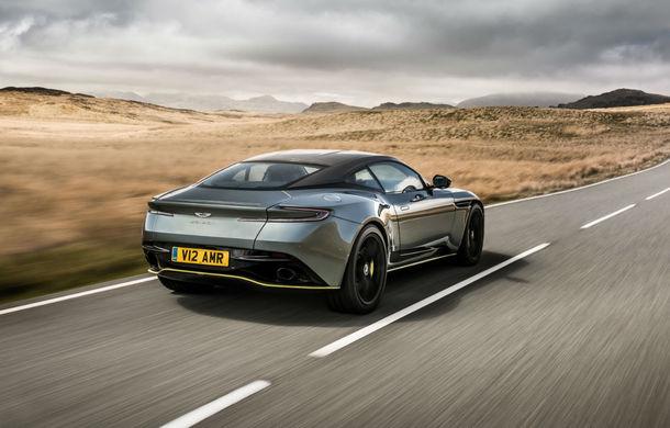 Noul Aston Martin DB11 AMR este aici: motor V12 twin-turbo de 5.2 litri, 640 de cai putere, 700 Nm și viteză maximă de 334 km/h - Poza 5