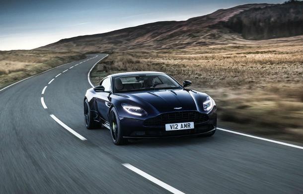 Noul Aston Martin DB11 AMR este aici: motor V12 twin-turbo de 5.2 litri, 640 de cai putere, 700 Nm și viteză maximă de 334 km/h - Poza 14