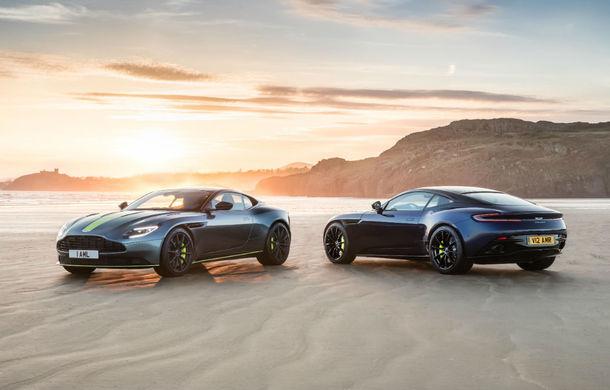 Noul Aston Martin DB11 AMR este aici: motor V12 twin-turbo de 5.2 litri, 640 de cai putere, 700 Nm și viteză maximă de 334 km/h - Poza 10