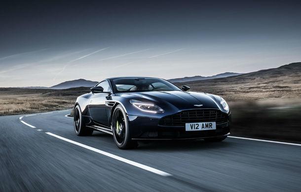 Noul Aston Martin DB11 AMR este aici: motor V12 twin-turbo de 5.2 litri, 640 de cai putere, 700 Nm și viteză maximă de 334 km/h - Poza 13