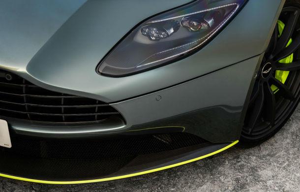 Noul Aston Martin DB11 AMR este aici: motor V12 twin-turbo de 5.2 litri, 640 de cai putere, 700 Nm și viteză maximă de 334 km/h - Poza 9
