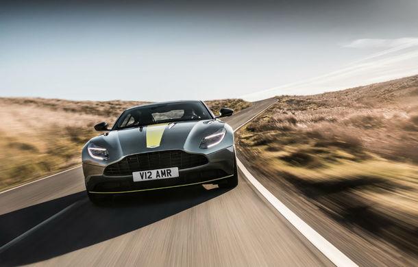 Noul Aston Martin DB11 AMR este aici: motor V12 twin-turbo de 5.2 litri, 640 de cai putere, 700 Nm și viteză maximă de 334 km/h - Poza 2