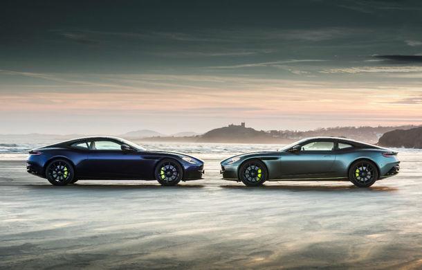 Noul Aston Martin DB11 AMR este aici: motor V12 twin-turbo de 5.2 litri, 640 de cai putere, 700 Nm și viteză maximă de 334 km/h - Poza 11