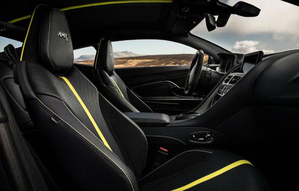 Noul Aston Martin DB11 AMR este aici: motor V12 twin-turbo de 5.2 litri, 640 de cai putere, 700 Nm și viteză maximă de 334 km/h - Poza 6