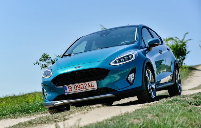 Test drive Ford Fiesta Active