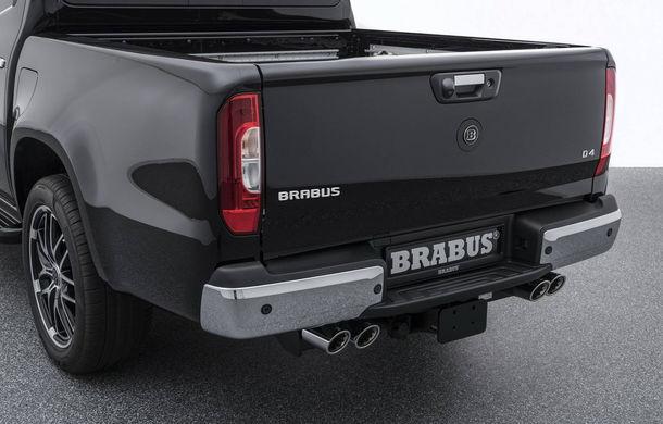 Tuning semnat de Brabus: pick-up-ul Mercedes-Benz Clasa X primește modificări estetice minore și ceva mai multă putere - Poza 8