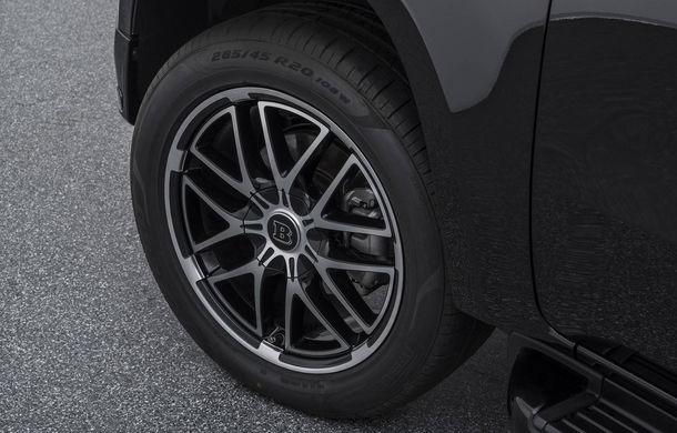Tuning semnat de Brabus: pick-up-ul Mercedes-Benz Clasa X primește modificări estetice minore și ceva mai multă putere - Poza 7
