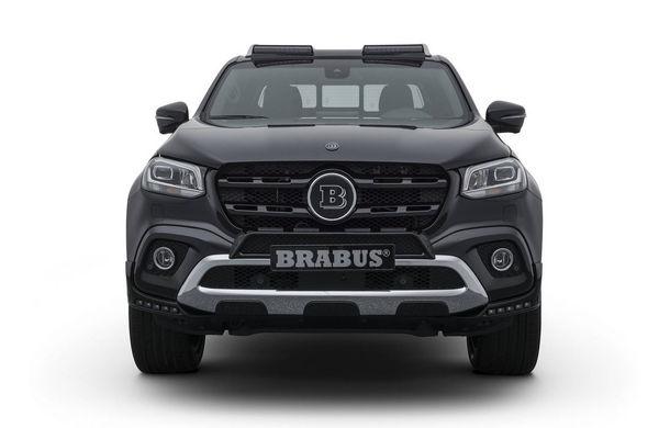 Tuning semnat de Brabus: pick-up-ul Mercedes-Benz Clasa X primește modificări estetice minore și ceva mai multă putere - Poza 2