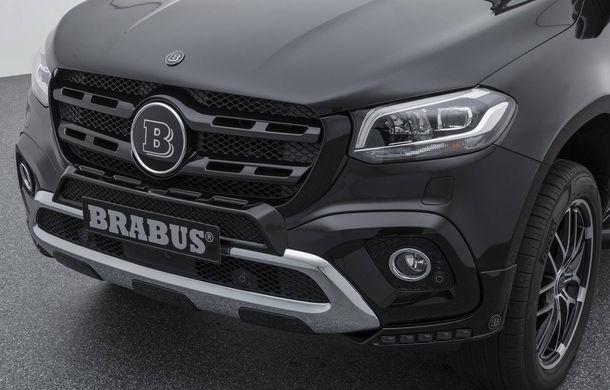 Tuning semnat de Brabus: pick-up-ul Mercedes-Benz Clasa X primește modificări estetice minore și ceva mai multă putere - Poza 6