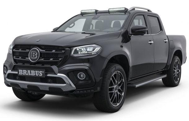 Tuning semnat de Brabus: pick-up-ul Mercedes-Benz Clasa X primește modificări estetice minore și ceva mai multă putere - Poza 1