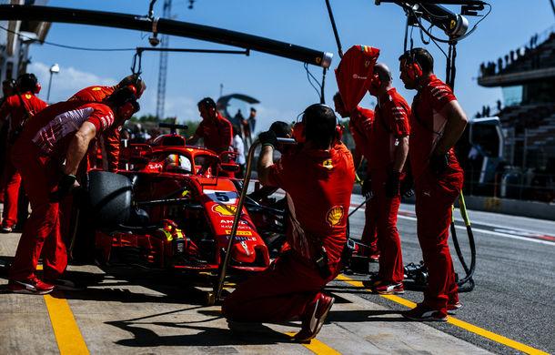 """Vettel explică intrarea suplimentară de la boxe: """"Nu a fost o eroare de strategie, pneurile nu ar fi rezistat până la final"""" - Poza 1"""