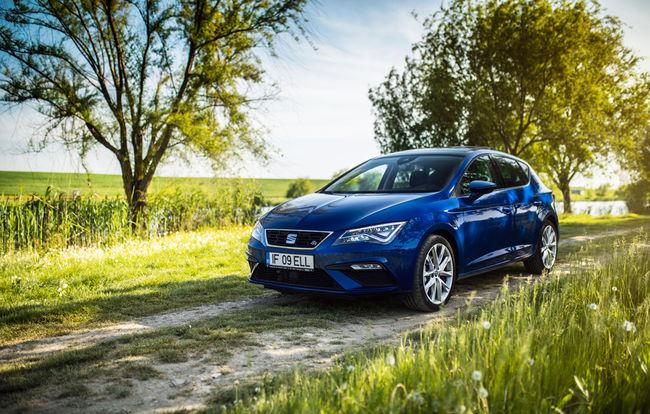 Test drive SEAT Leon facelift