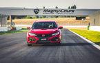 """""""Type R Challenge 2018"""" începe cu un succes: Honda Civic Type R e cea mai rapidă mașină de serie cu roți motrice față pe circuitul Magny Cours"""